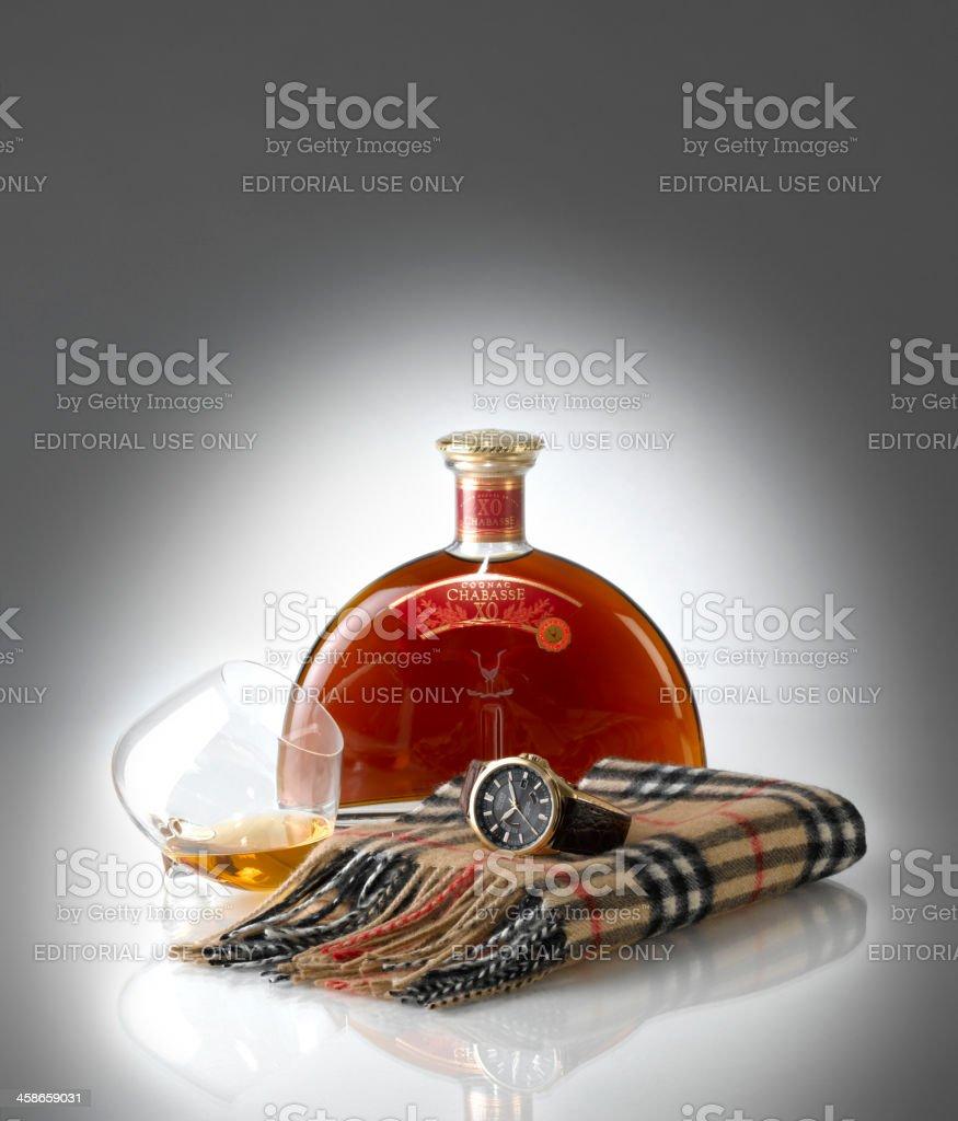 Luxury items stock photo