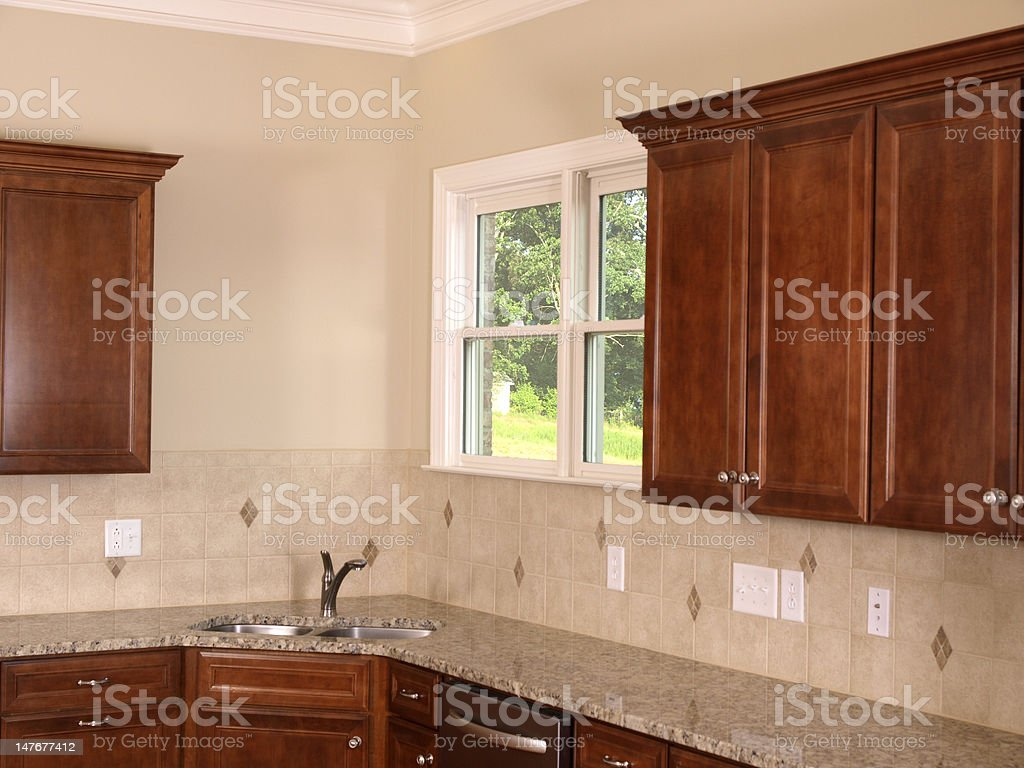 Luxury Kitchen corner royalty-free stock photo