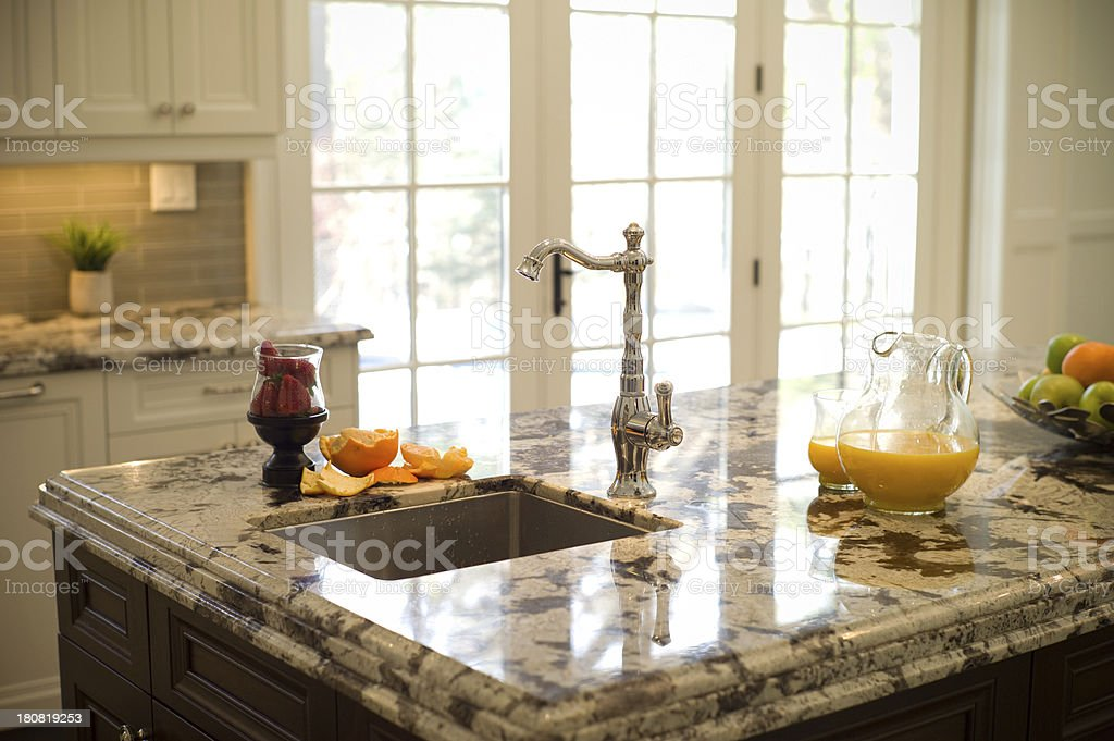 Luxury Kitchen Detail stock photo