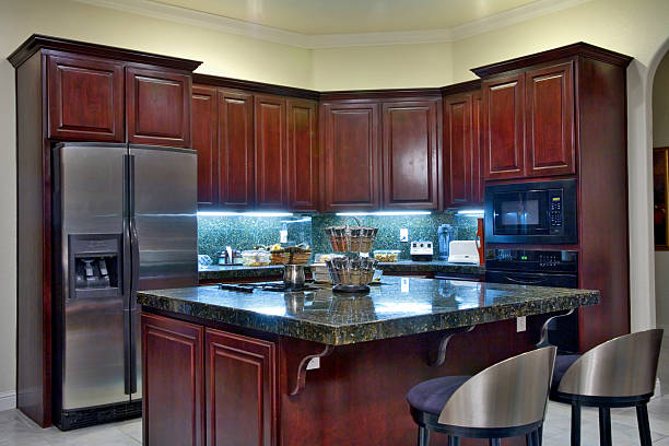 50 Mahogany Kitchen Cabinets Stock Photos Pictures Royalty Free Images Istock