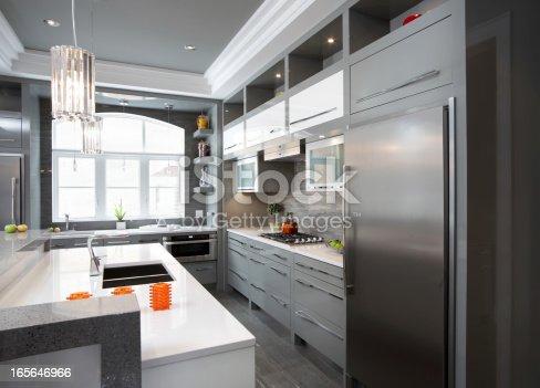 istock Luxury Kitchen 165646966