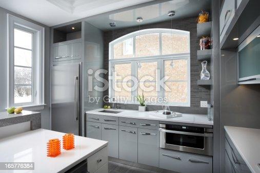 istock Luxury Kitchen 165776384