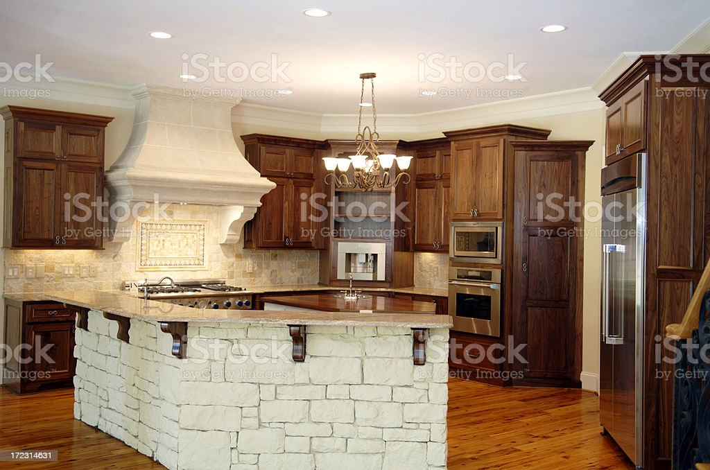 Luxury kitchen.