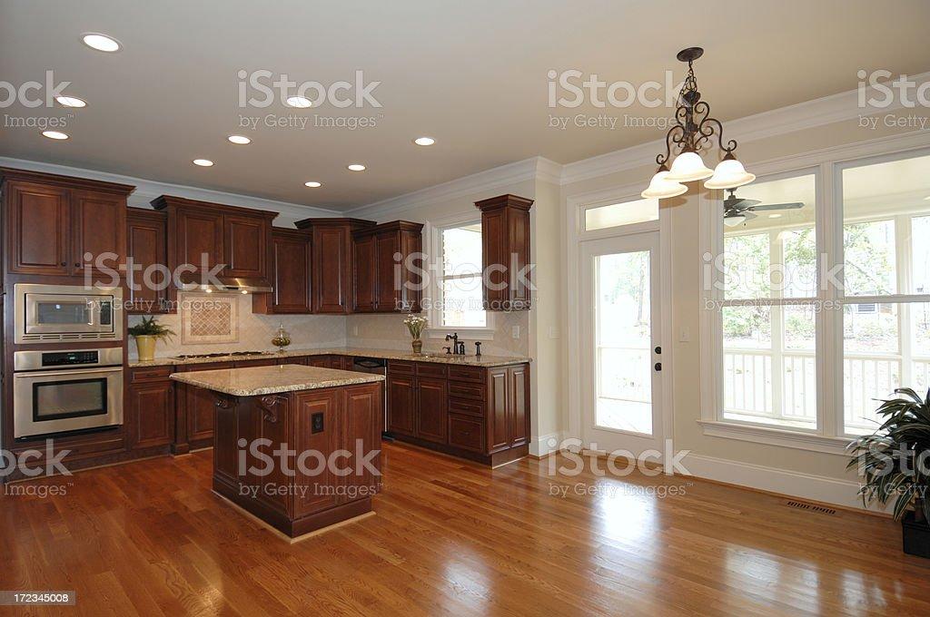 Luxury Kitchen royalty-free stock photo