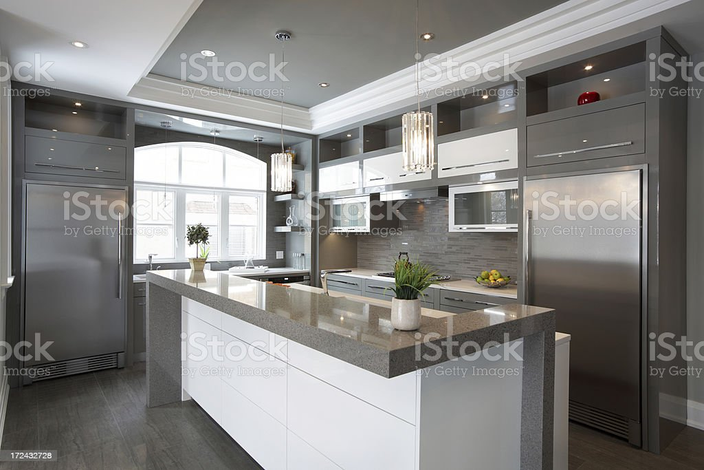 Luxus-Küche – Foto