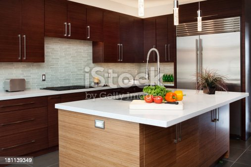 istock Luxury Kitchen 181139349