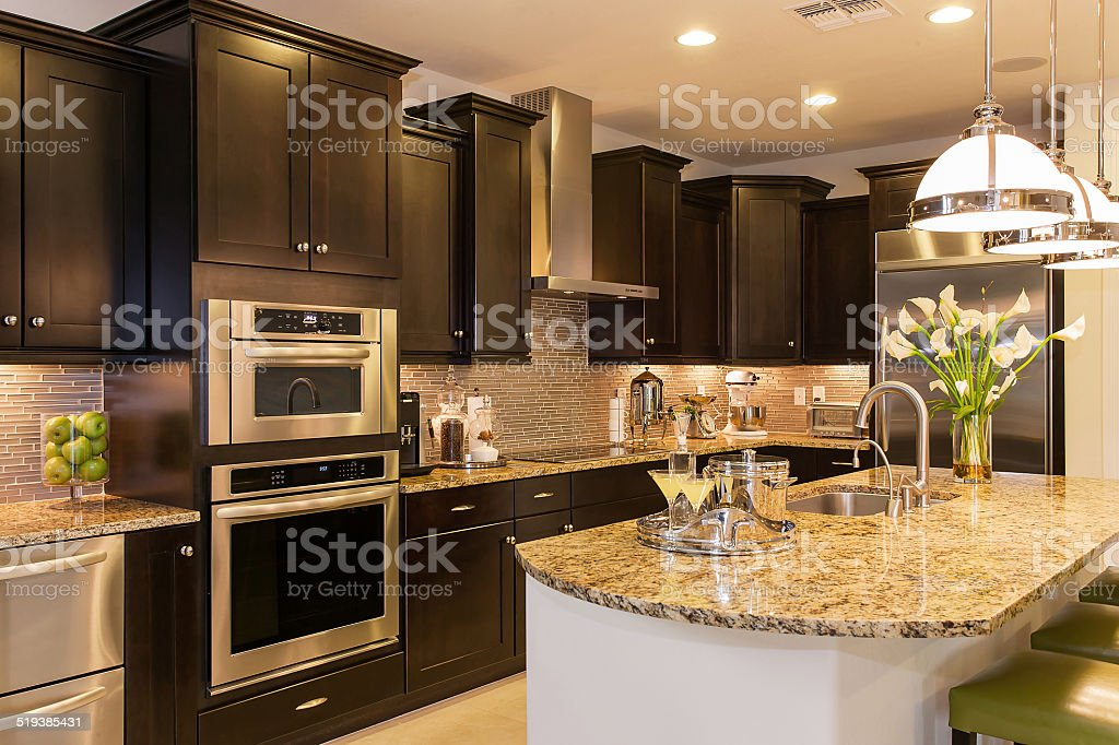 ... Luxury Kitchen Stock Photo ...
