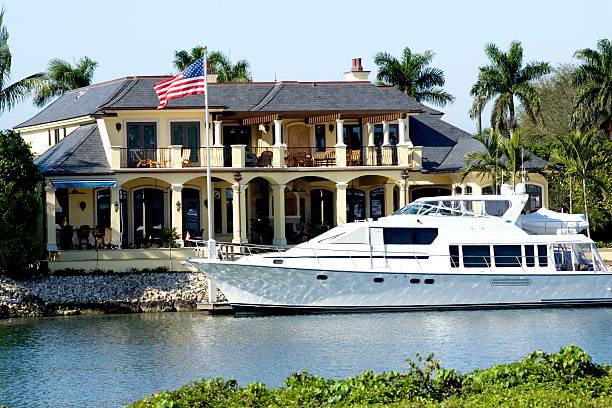 Luxury Living stock photo