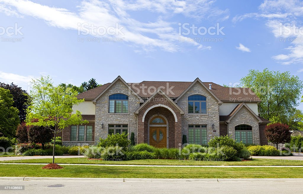 luxury living stock photo