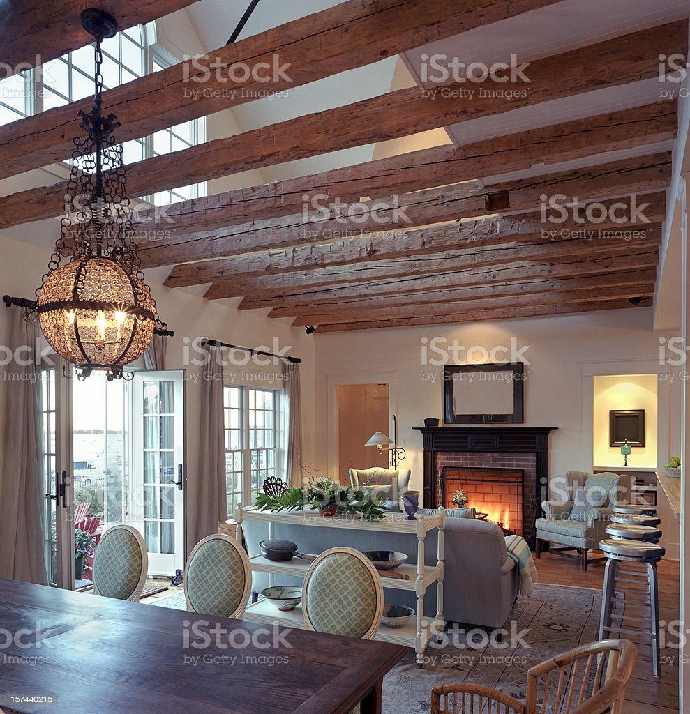 Luxury Living Room stock photo