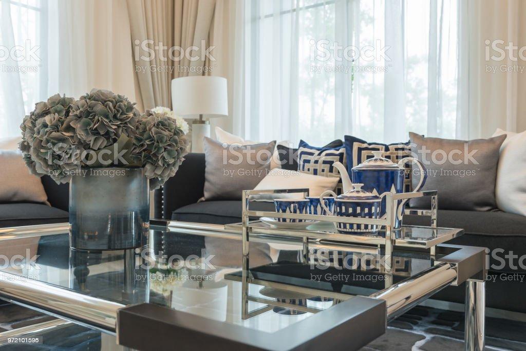 Luxury Living Room With Elegant Sofa Stock Photo Download Image Now Istock