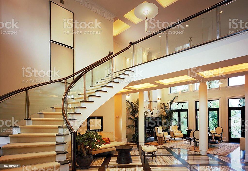 Luxury Lobby royalty-free stock photo