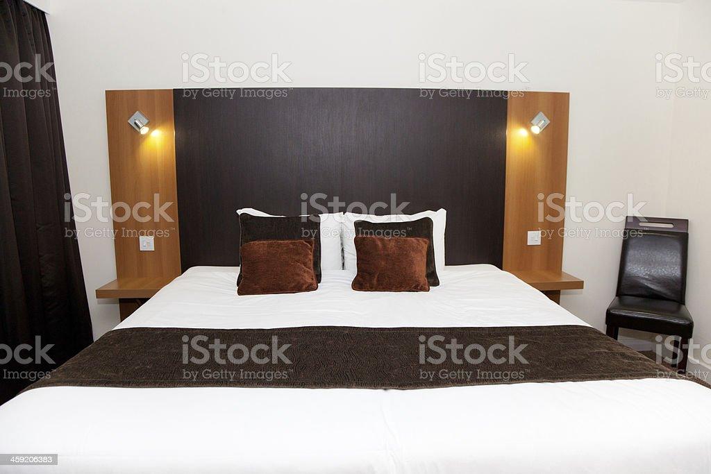Luxury London Hotel Room royalty-free stock photo