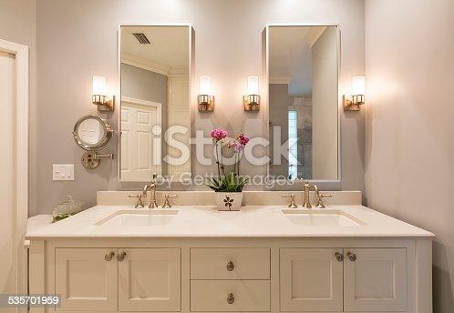 Master Bathroom Interior.