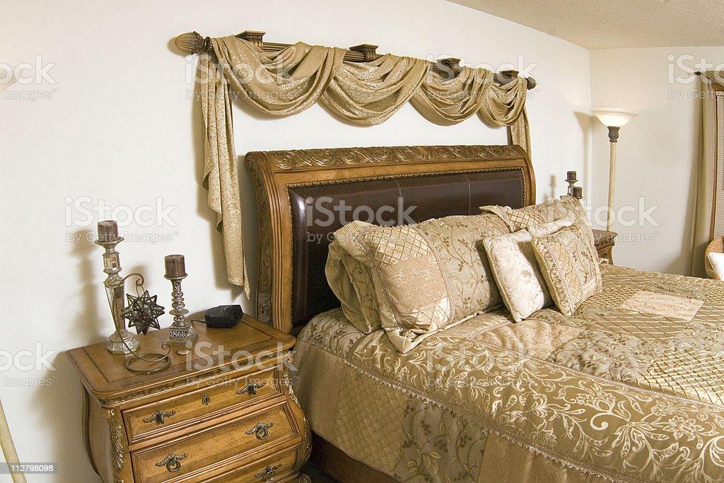Luxury Master Bedroom - 3 royalty-free stock photo