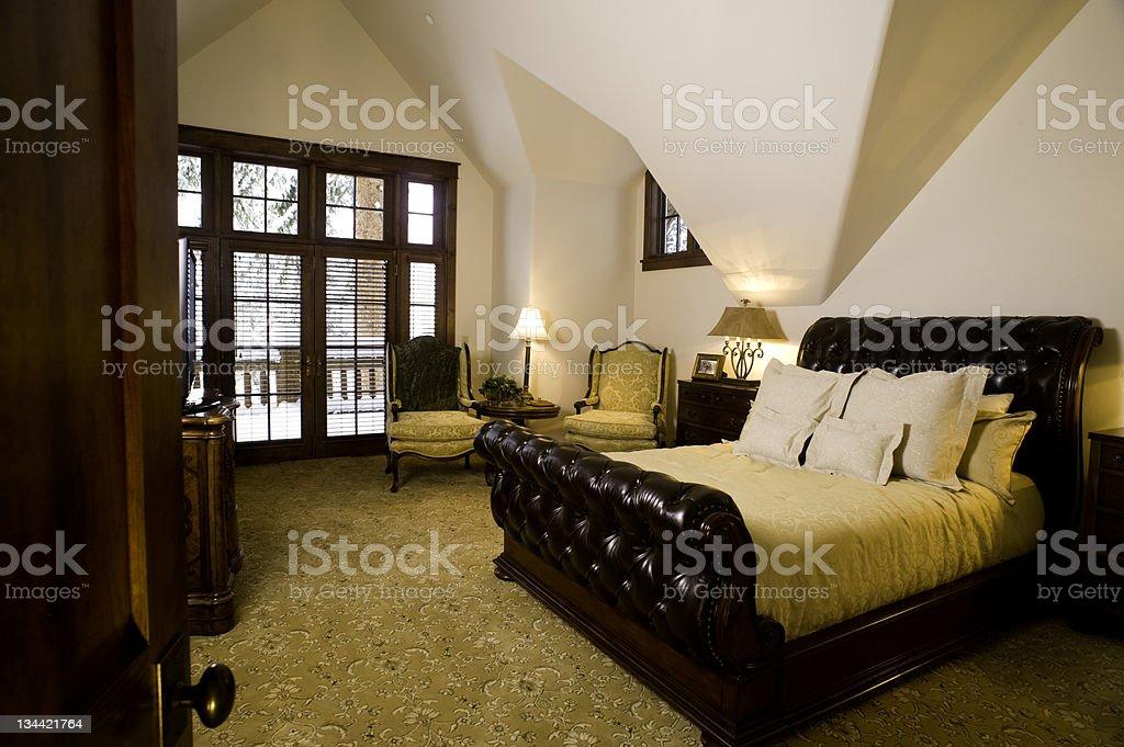 Luxury Master Bedroom royalty-free stock photo