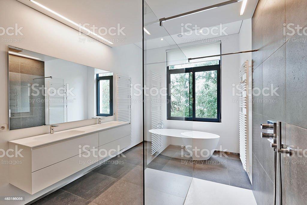 Luxuriöses Modernes Badezimmer Stockfoto und mehr Bilder von 2015 ...