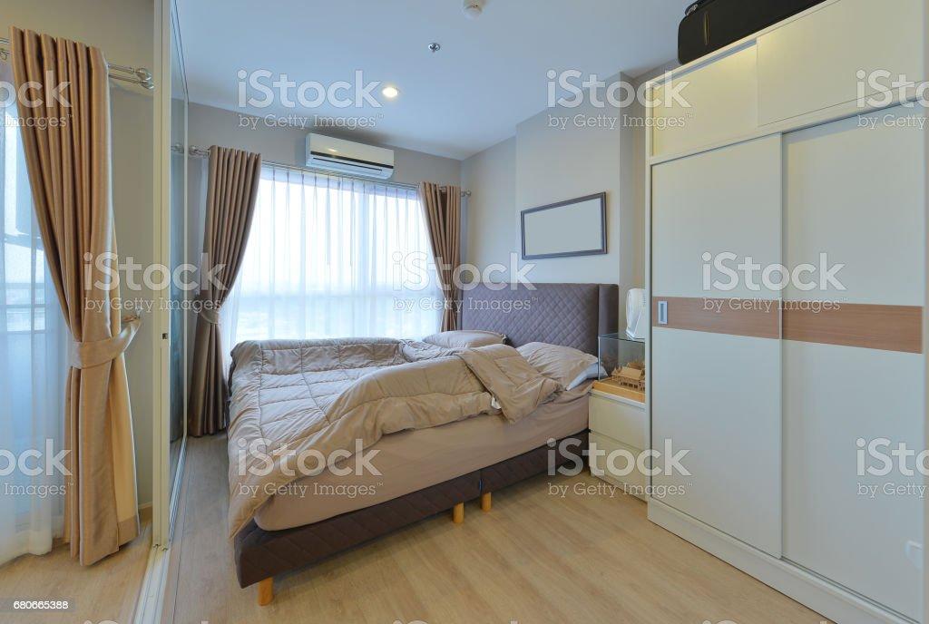 Luxus Moderne Schlafzimmer Inneneinrichtung Und Dekoration ...