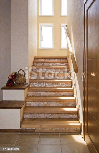 Luxury modern interior of house