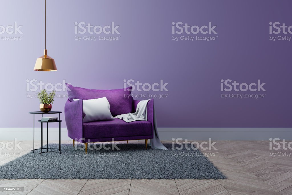 Sensational Luxury Modern Interior Of Living Room Ultraviolet Home Decor Theyellowbook Wood Chair Design Ideas Theyellowbookinfo