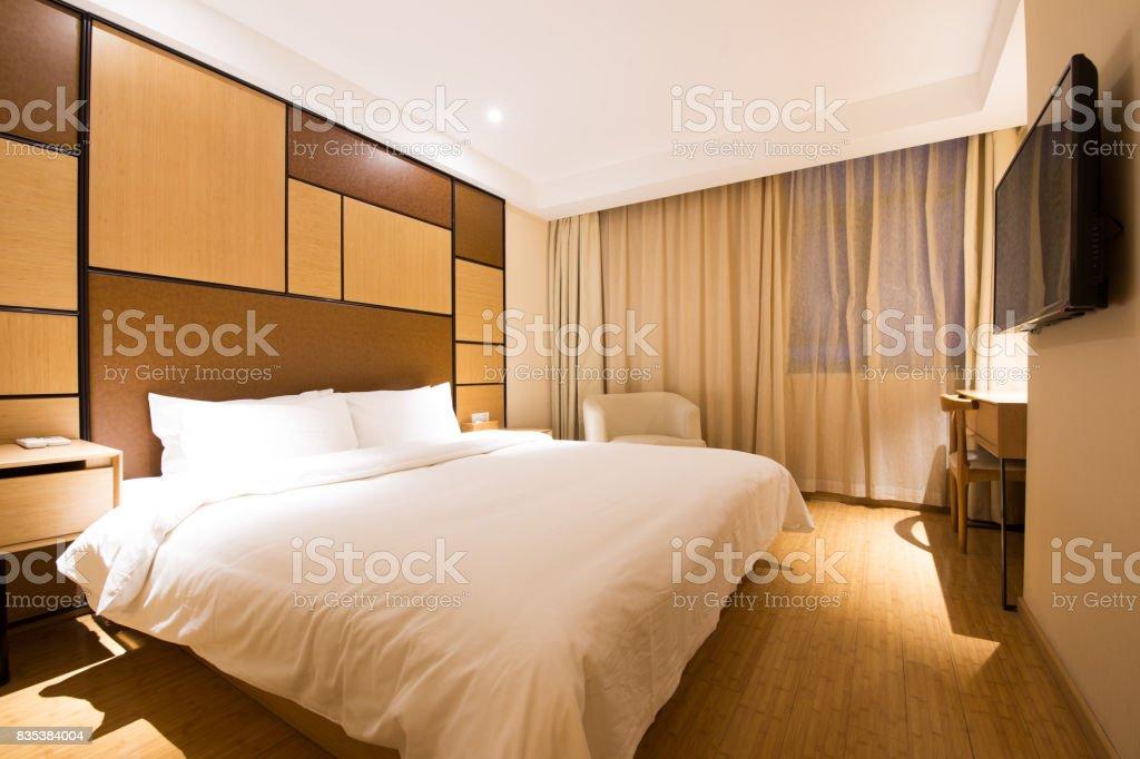 Luxury Modern Japanese Style Bedroom Stock Photo - Download Image ...