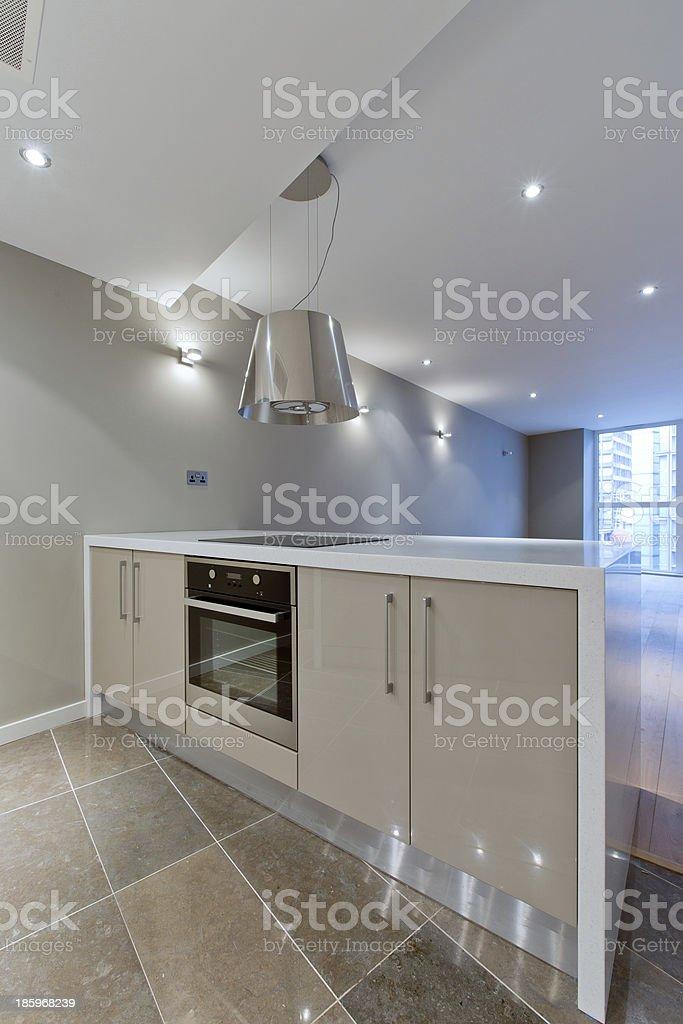 Luxury Modern Kitchen royalty-free stock photo