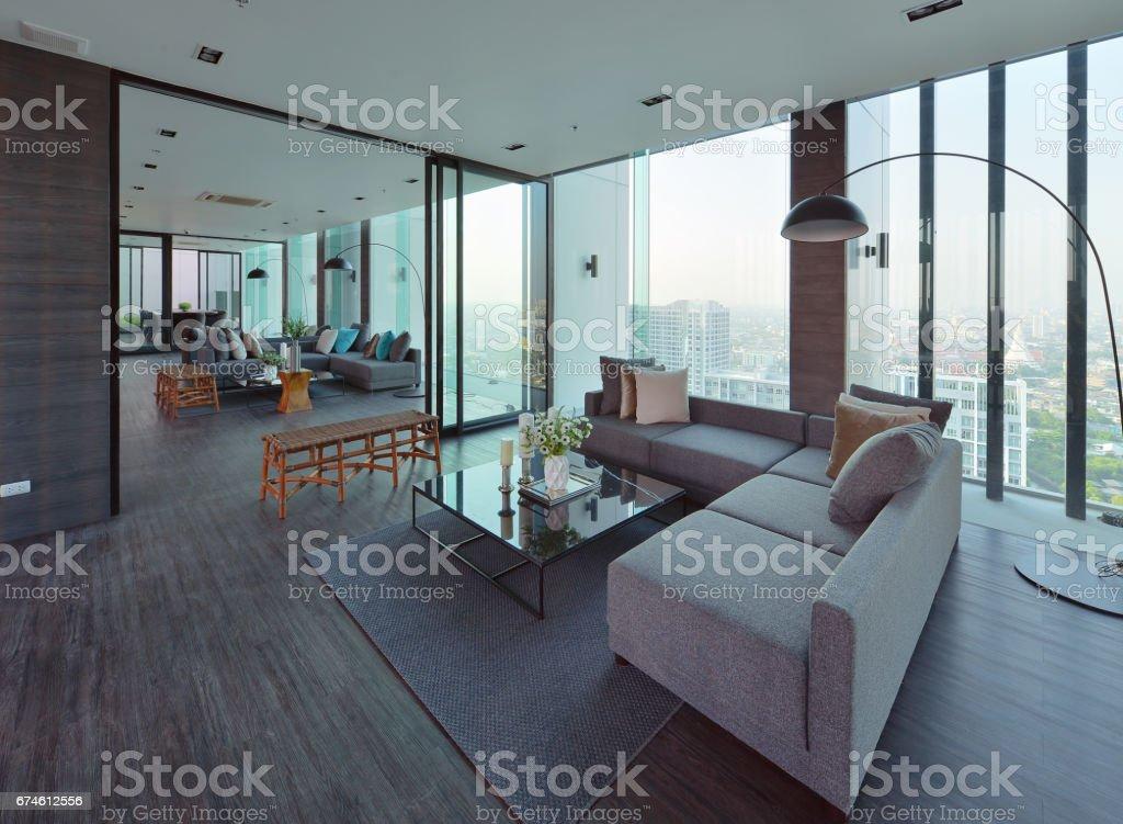 Luxury Modern Living Room Interior And Decoration Interior Design Stockfoto Und Mehr Bilder Von Architektur Istock