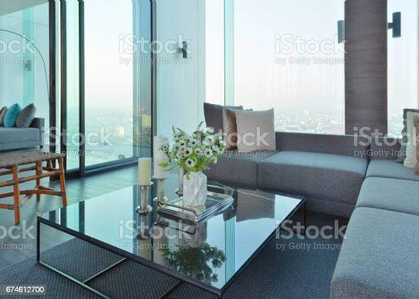 Foto De Luxury Modern Living Room Interior And Decoration Interior Design E Mais Fotos De Stock De Aberto Istock