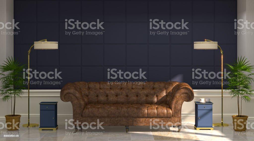 Boden, Hausdekor, Kopfkissen, Möbel, Sofa. Luxus Modernen Wohnzimmer  Ledersofa ...