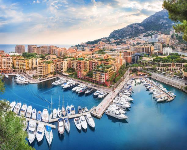 Luxus Monaco-Ville Hafen von Monaco, Cote d ' Azur – Foto