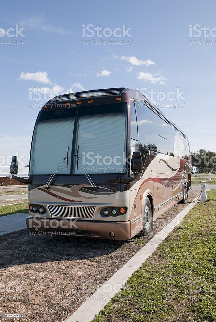 Luxury Motorhome royalty-free stock photo
