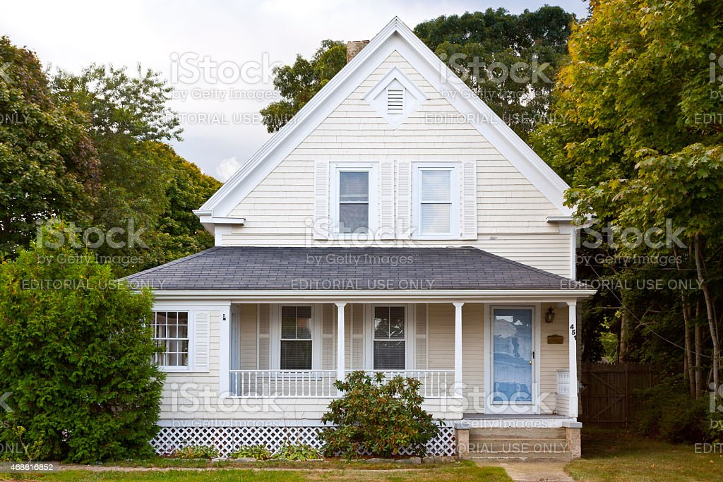 royalty free cape cod style home photos pictures images and stock rh istockphoto com Victorian Style Homes Craftsman- style Home