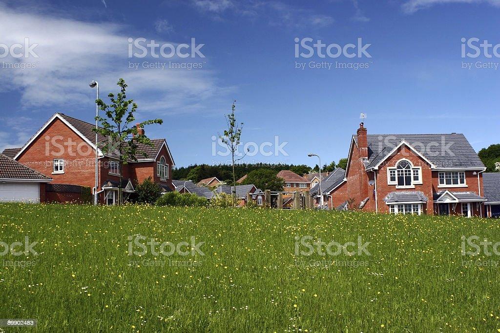 Luxury new housing royalty-free stock photo