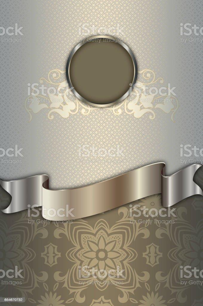Luxury old-fashioned background. stock photo
