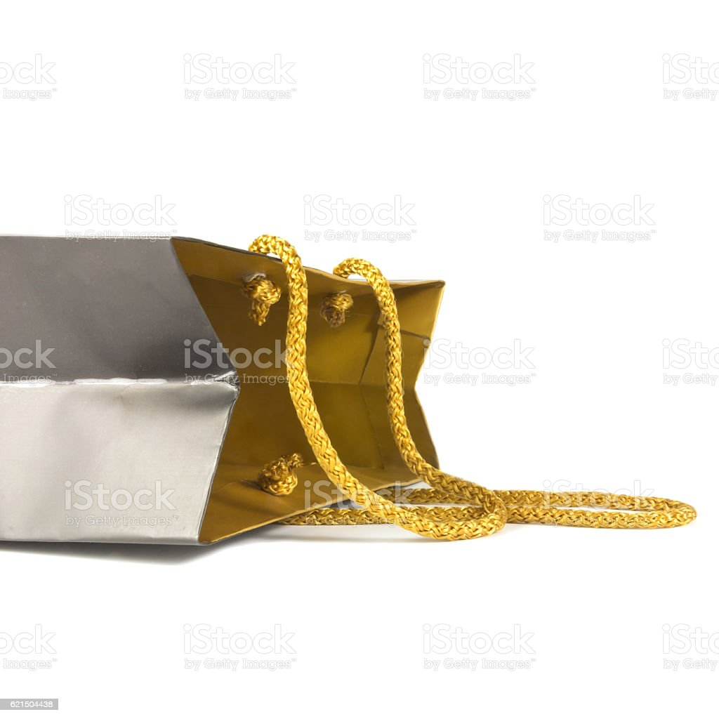 luxury paper bag foto stock royalty-free