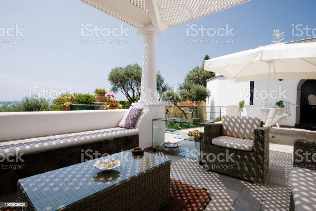 Luxury Patio, Mediterranean Style