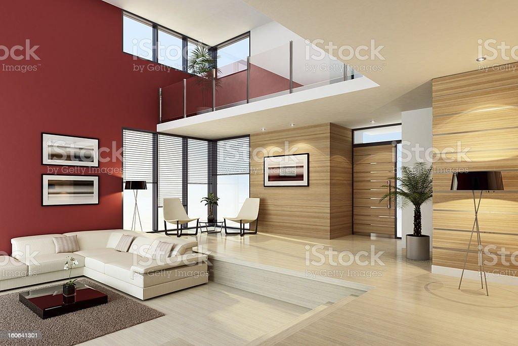 Luxuriöses Penthouse innen – Foto