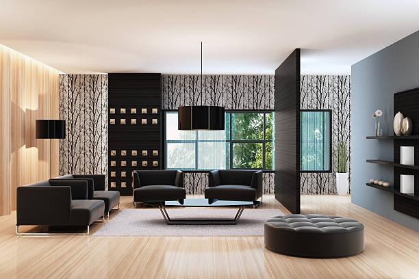 luxus-penthouse - malerei türen stock-fotos und bilder