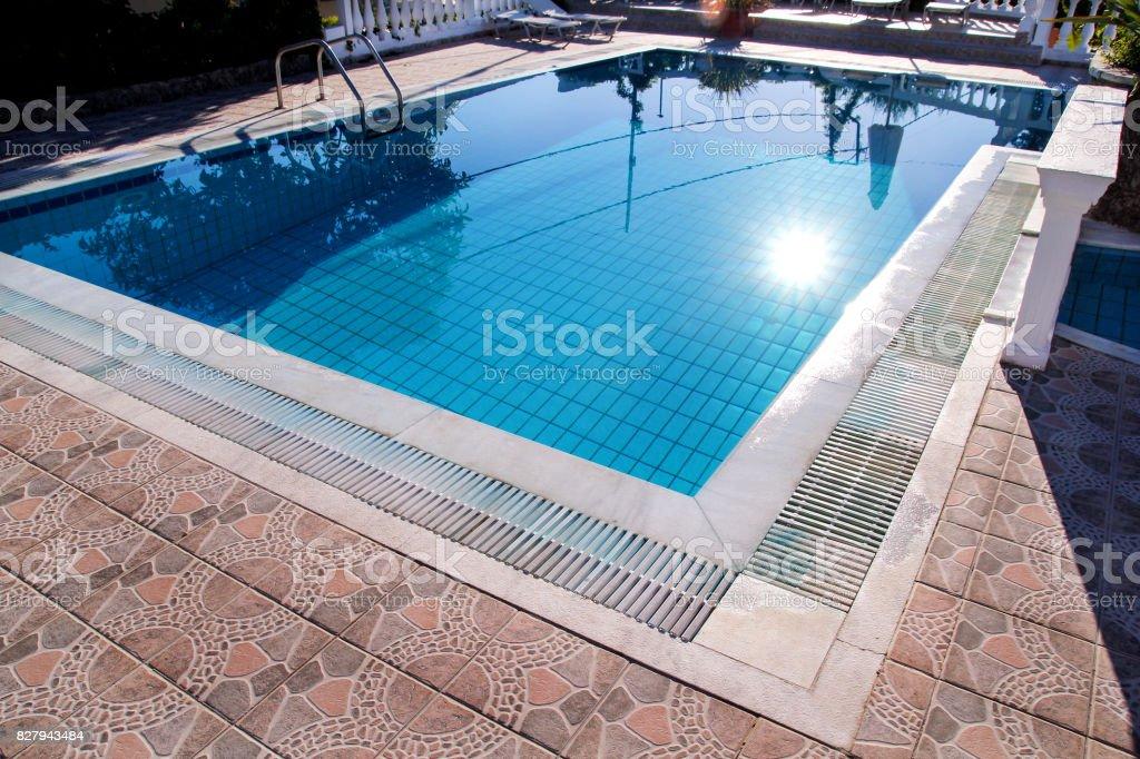 Luxus Pool Design Moderner Architektur Schwimmbad Schwimmbad ...