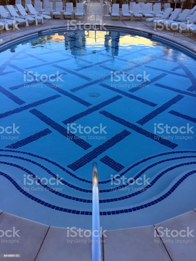Luxury Pool stock photo
