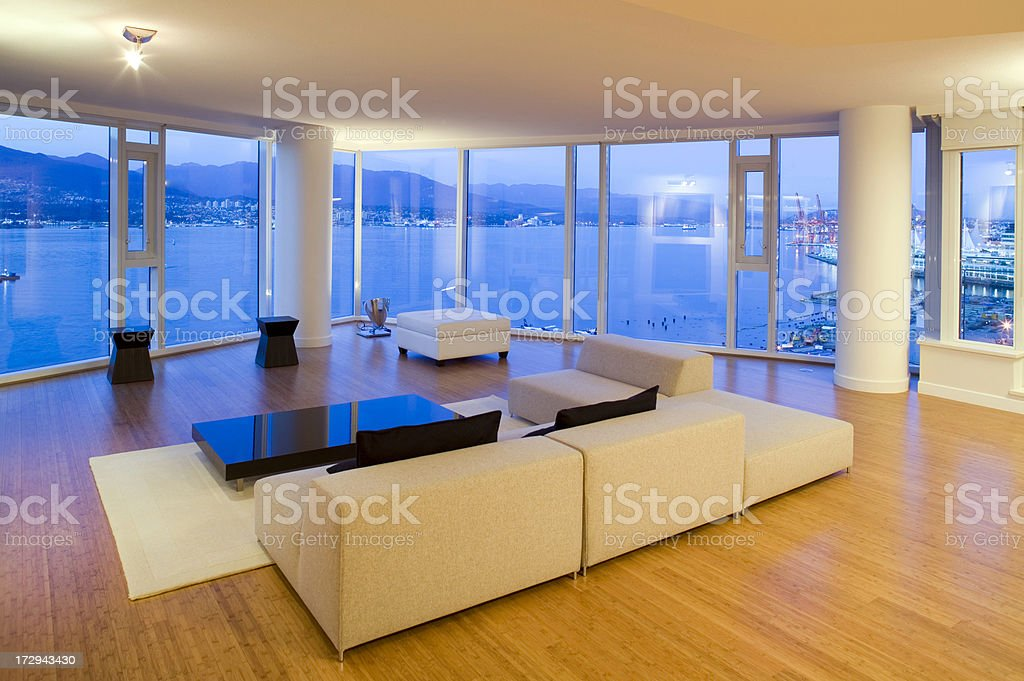 luxury real estate condo stock photo