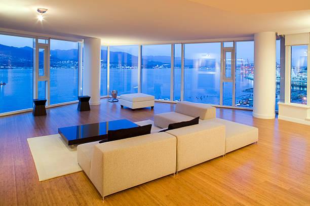 luxury real estate condo stock photo
