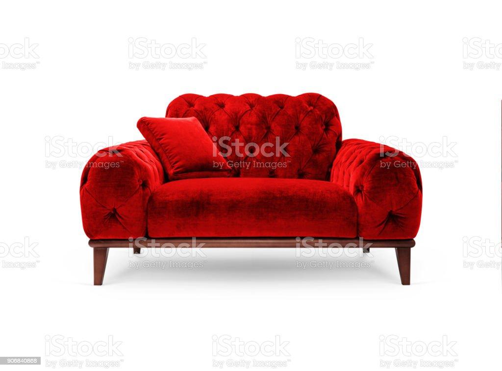 Luxus rot Sessel – Foto