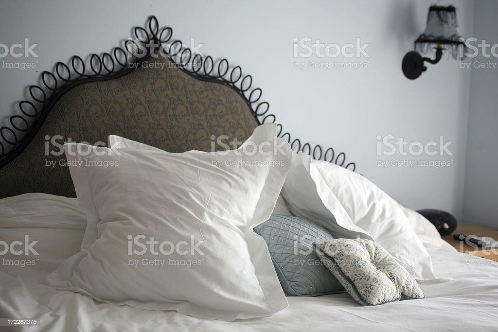 Luxury resort - bedroom royalty-free stock photo