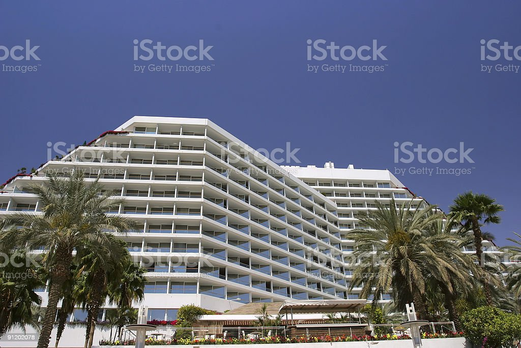 Luxury Resort Hotel royalty-free stock photo