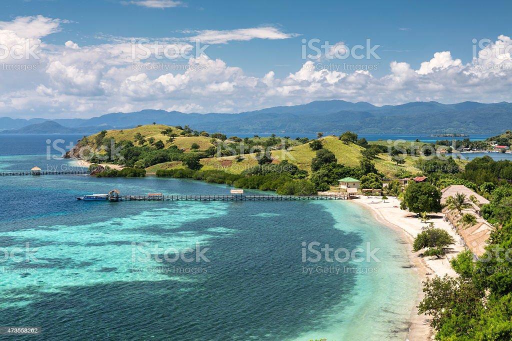 Resort di lusso sulla spiaggia di sabbia bianca di komodo - Immagini di spongebob e sabbia ...