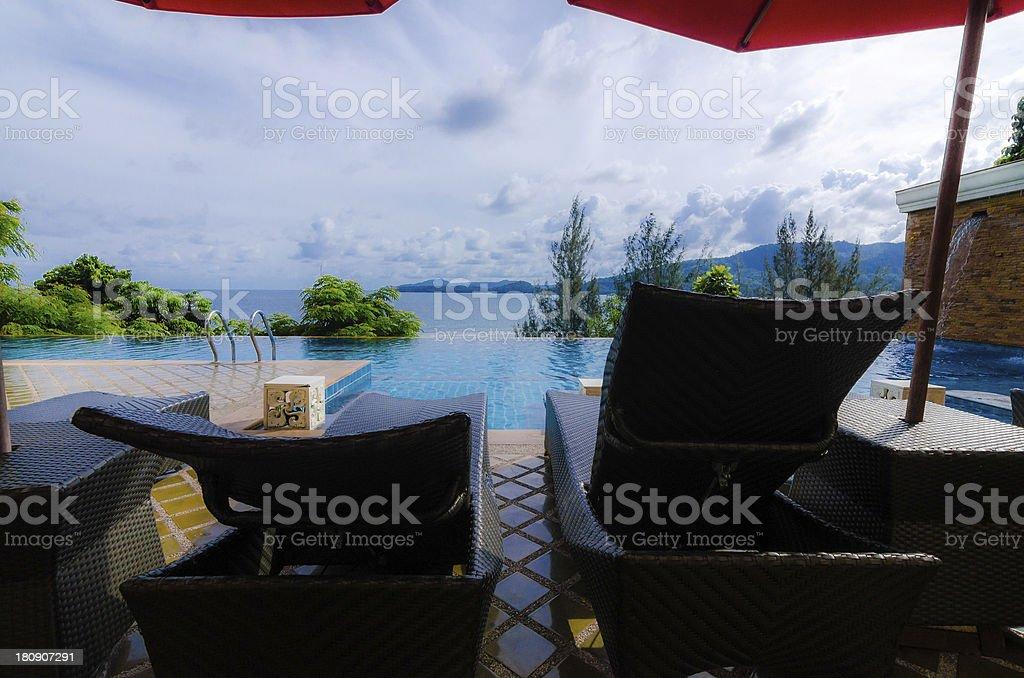 Luxus-Resort Lizenzfreies stock-foto