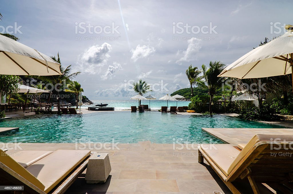 Luxury Resort stock photo