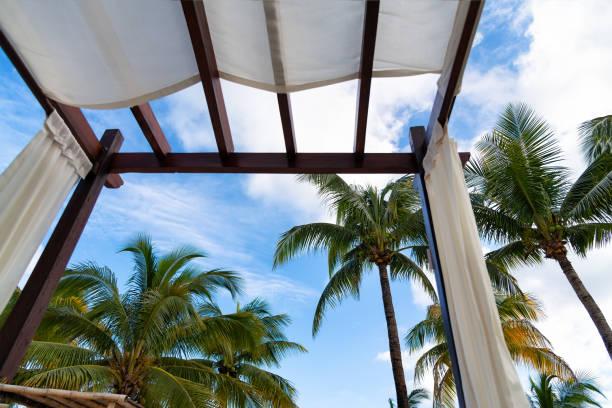 Luxury resort relax stock photo