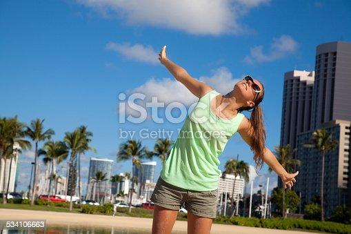 istock Luxury resort vacation. 534106663